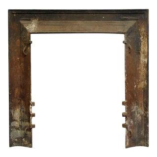 Modern Cast Iron Black Fireplace Insert