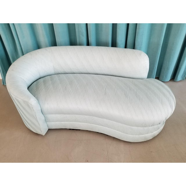 1980's Vladimir Kagan Chaise Lounge - Image 2 of 5