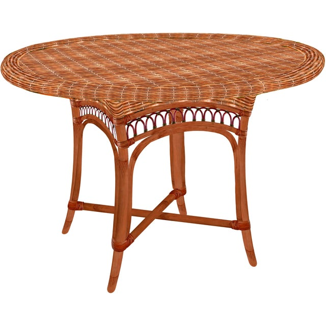 Image of Grange Camargue Dining Table With Glass Top