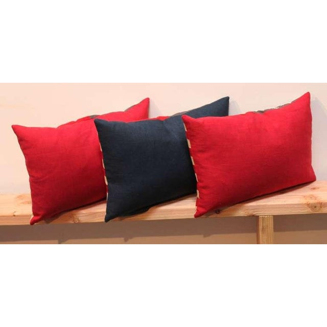 48 Star Parade Flag Pillows with Linen Backing - Image 3 of 5
