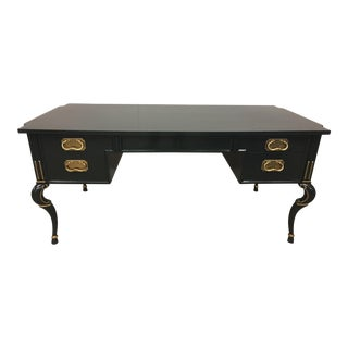 Tomlinson Lacquered Partners Desk
