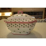 Image of Hand Painted Soup Tureen