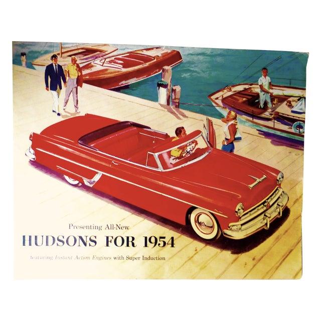 1954 Hudson Car 16-Page Brochure - Image 1 of 7