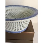 Image of Chinese Canton Blue & White Basket