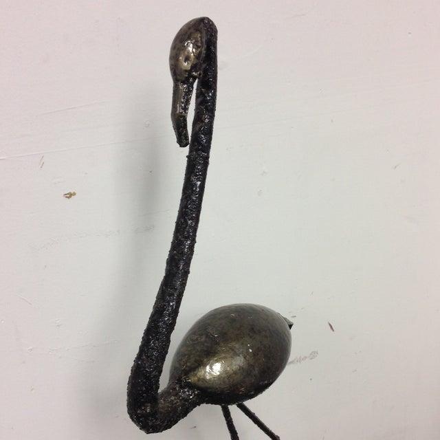 Image of Francis Otieno Metal Flamingo Sculpture