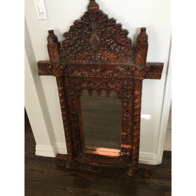Antique Moroccan Style Mirror - Image 4 of 5