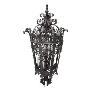 Wrought Iron Six Light Lantern