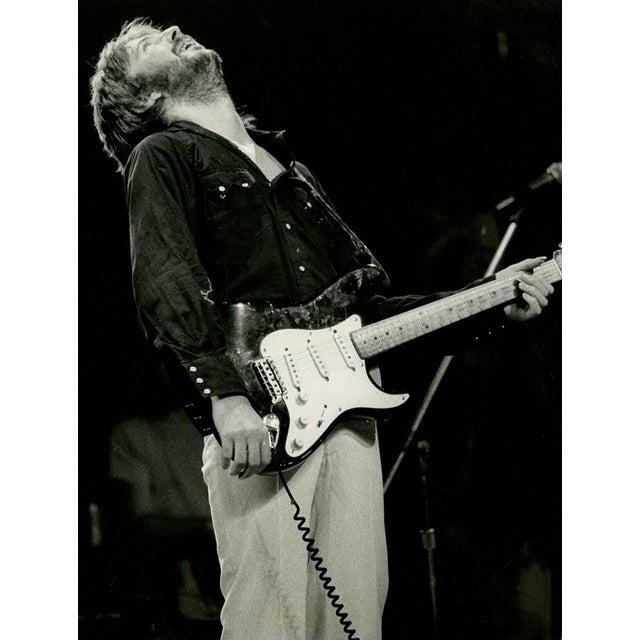 Image of Vintage 1975 Eric Clapton Photograph
