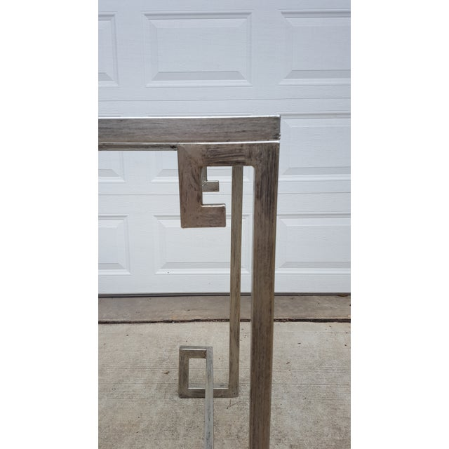 Greek Key Console Table - Image 4 of 4