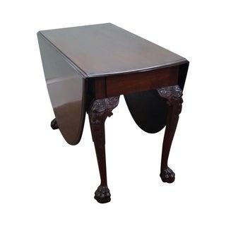 Antique George III Mahogany Drop Leaf Table
