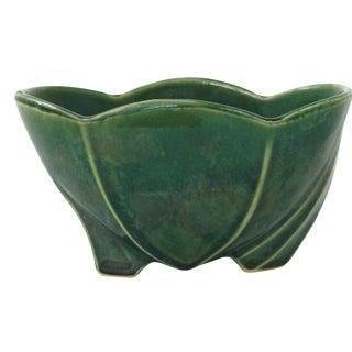 McCoy Green Pottery Vase