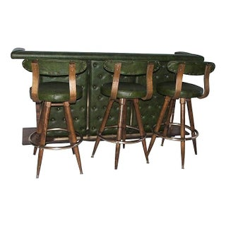 Mid-Century Modern Danish Bar Set