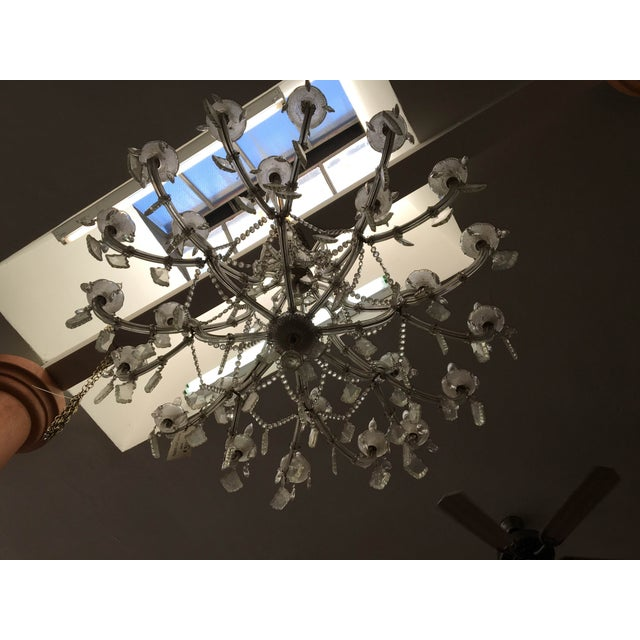 Maria Theresa 16 Arm Chrystal Chandelier - Image 5 of 7