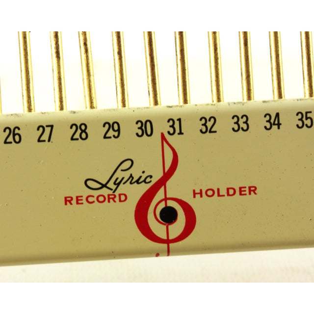 Image of Vintage Lyric Wire Record Holder