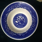 Image of Royal China Blue & White Willow Ware Bowl