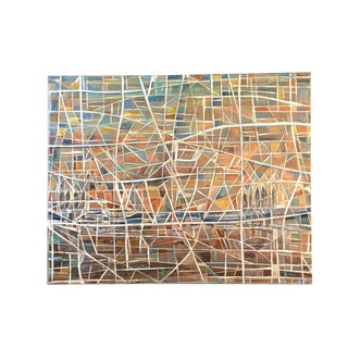Horacio Morcos Abstract Original Painting