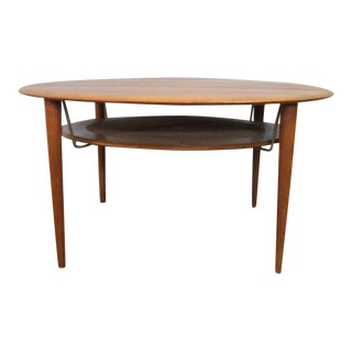 Peter Hvidt Style Danish Teak Coffee Table