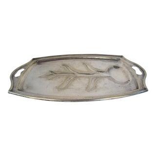Silver-Plate Meat Platter