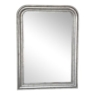 19th Century Louis Philippe Silver Mirror