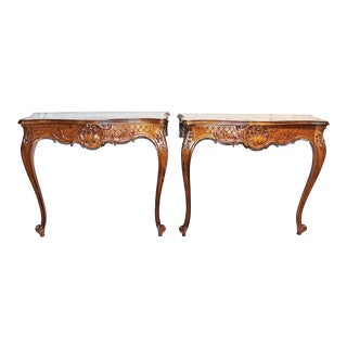French Antique Consoles - A Pair