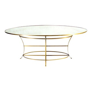 Large Oval Display Table