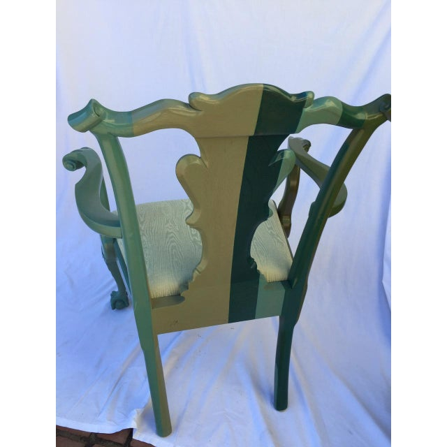 Chippendale Style Chair by Jamie Drake - Image 2 of 6