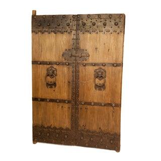 Antique Wooden Gate Doors