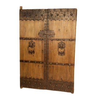 Antique Wooden Gate Doors