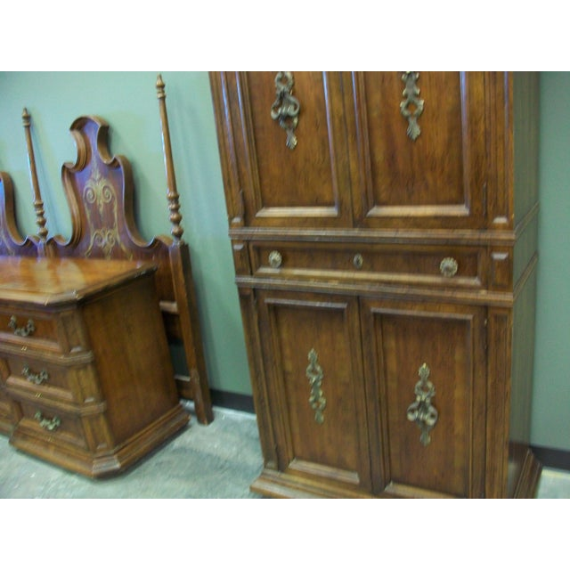 Vintage armoire by american of martinsville chairish for Vintage american martinsville bedroom furniture