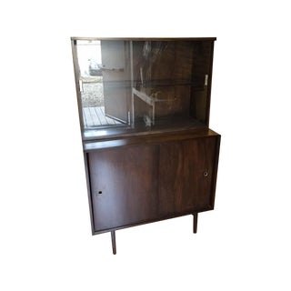 Paul McCobb Vintage Two-Piece Hutch Cabinet