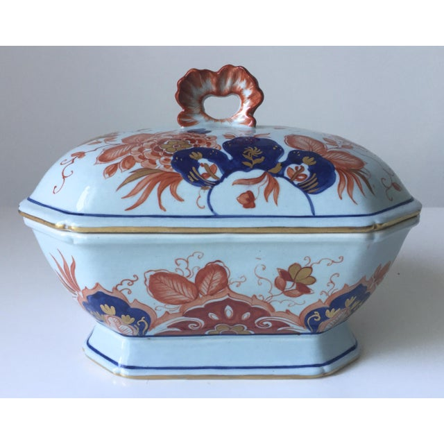 Italian Faience Hand-Painted Imari Tureen - Image 9 of 9