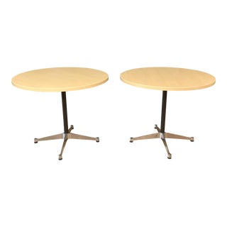 Eames for Herman Miller Aluminum Group Ash Top Table W/Contract Base