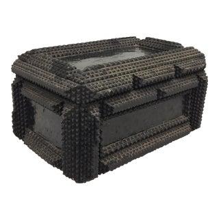 Antique Tramp Art Box