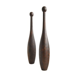 2.5 Pound Columbia Wooden Clubs - A Pair