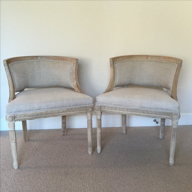 Swedish Occasional Chairs - Pair - Image 2 of 6