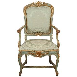 Fine Venetian Rococo Arm Chair