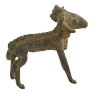 Vintage African Iron Ram Casting