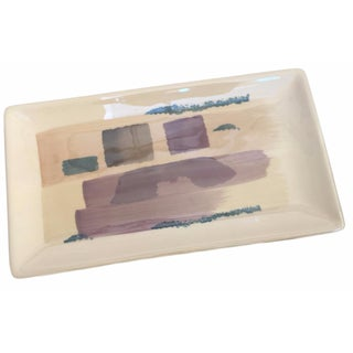 Abstract Pastel Catchall Tray