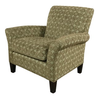 Room & Board Circular Patterned Armchair