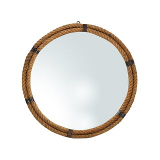 Nautical Round Rope Mirror