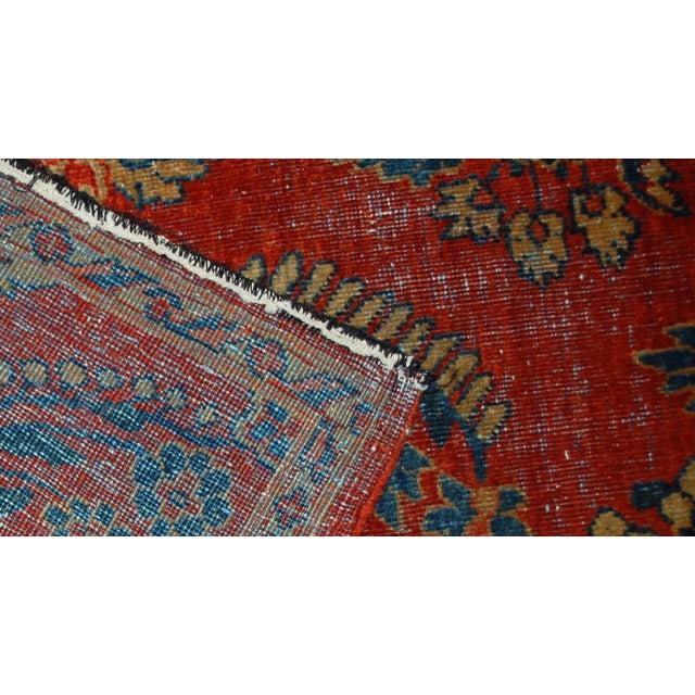 "Image of Antique Persian Mahal Vagireh Rug - 2'1"" X 3'10"""