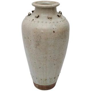 Thai Glazed Earthenware Vase