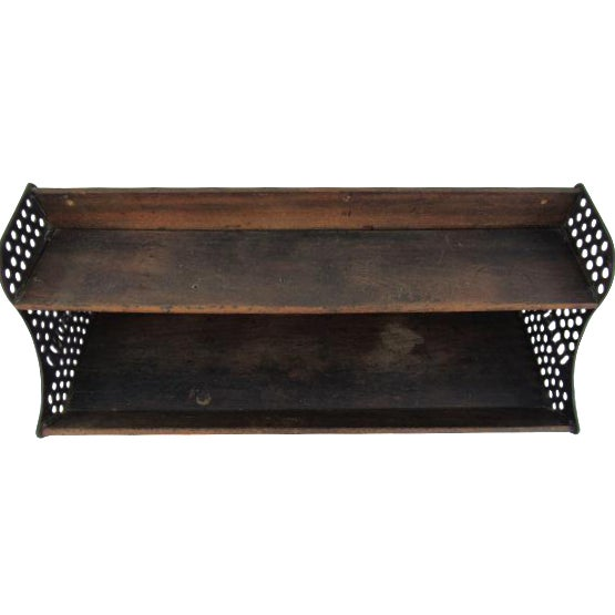Image of Antique Country Store Display Shelf