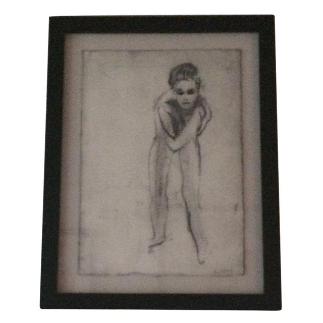 """Image of """"Nude 13"""" Charcoal Drawing by Matt Alston"""