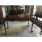 Image of Mahogany Writing Desk