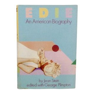 """Edie: An American Biography"" 1982 Book"