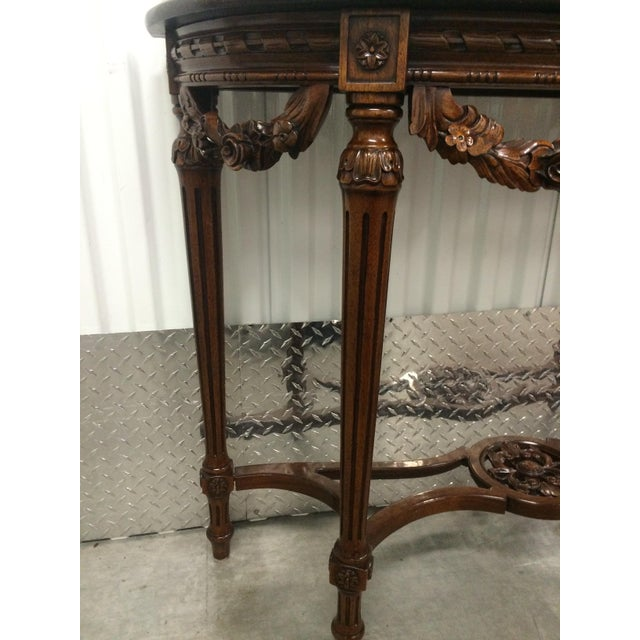 Maitland-Smith Carved Entry Table - Image 7 of 10