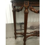 Image of Maitland-Smith Carved Entry Table