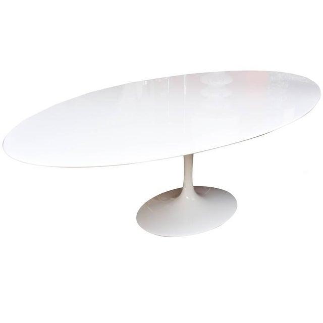 Eero Saarinen for Knoll Oval Dining Table - Image 1 of 9
