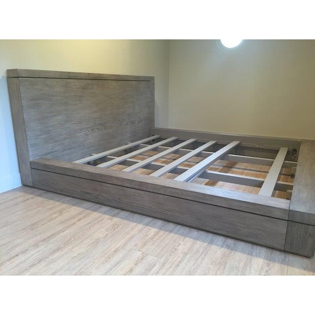 Restoration Hardware Meade Platform King Bed Chairish